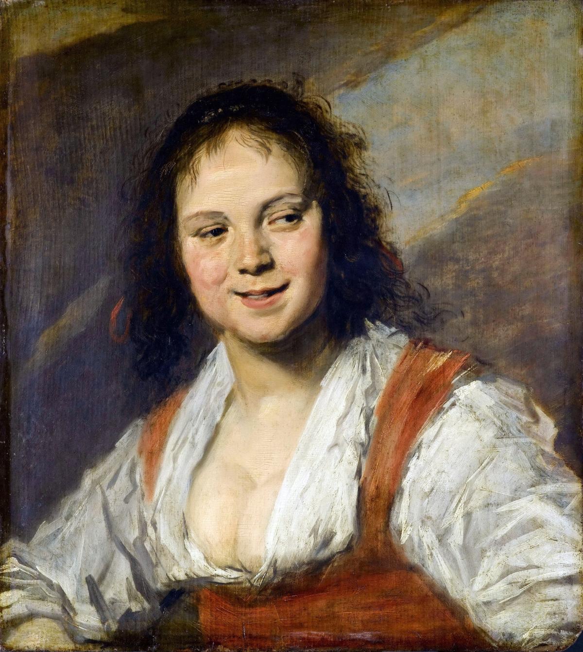 La Bohémienne tableau peint par Frans Hals