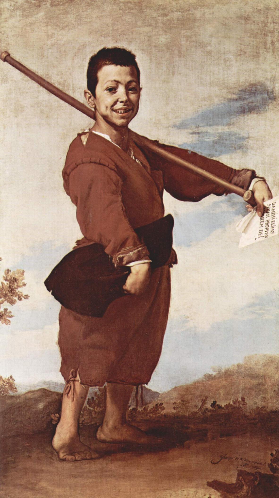 Le Pied-bot tableau peint par Jusepe Ribera
