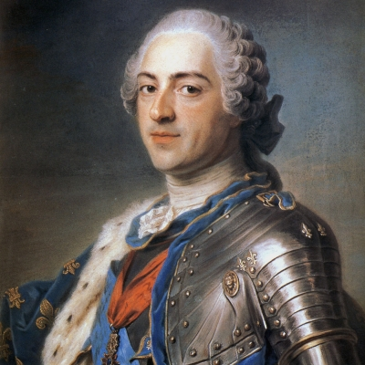 Portrait de Louis XV