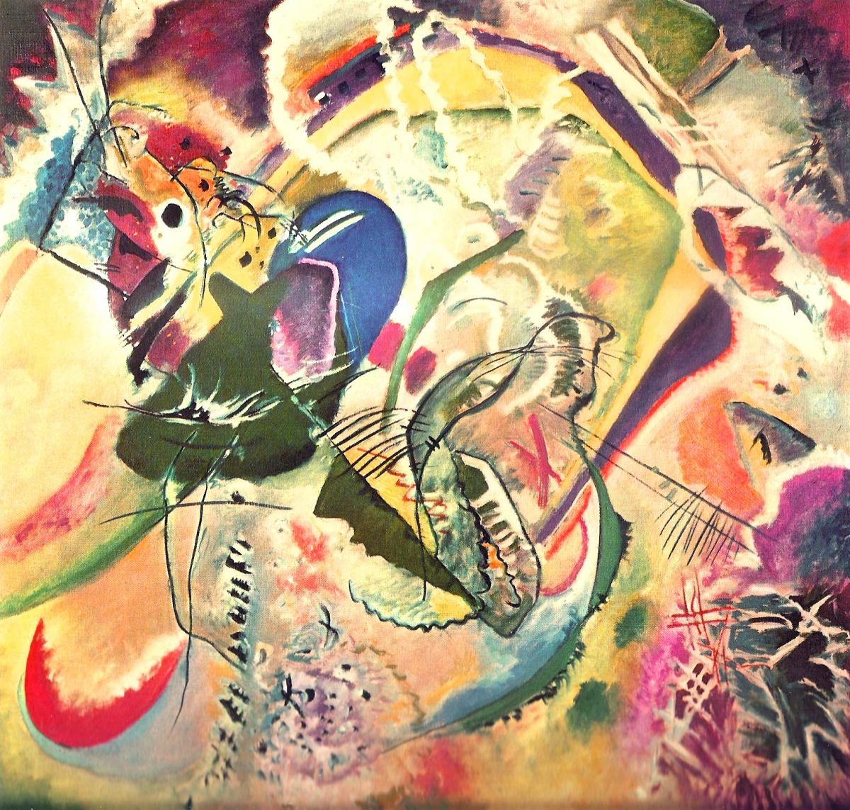 Improvisation 35 de Vassili Kandinsky