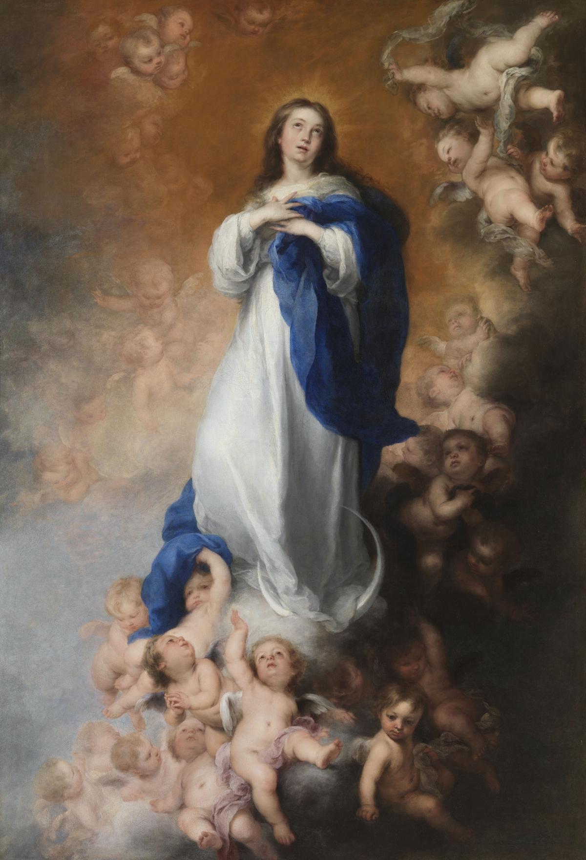 L'immaculée Conception tableau peint par Bartolomé Esteban Murillo