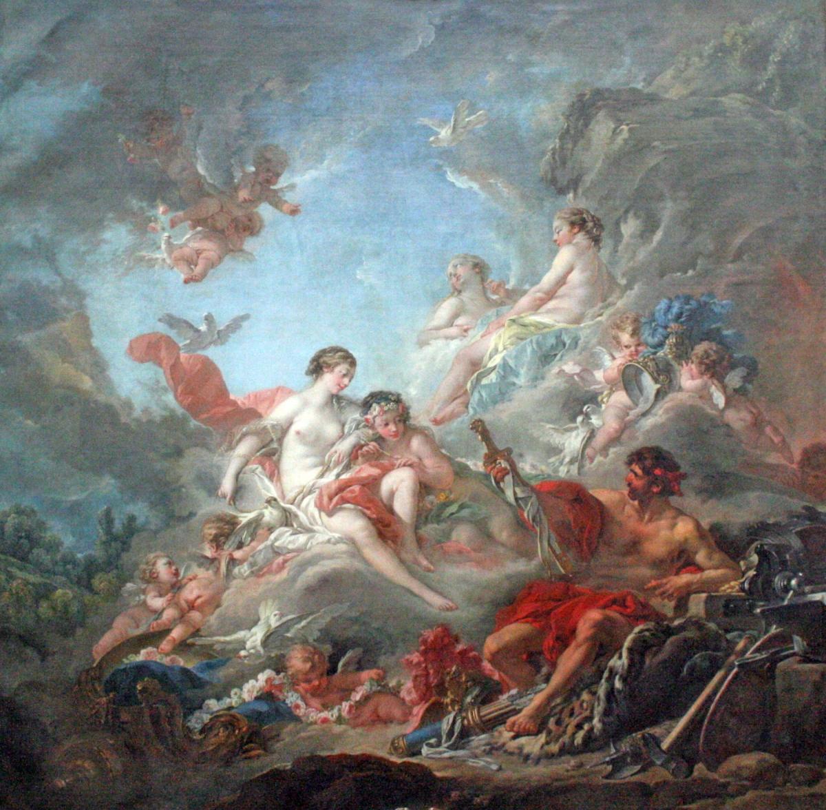 Les Forges de Vulcain par François Boucher (1757)