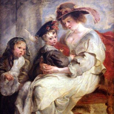 Hélène Fourment et deux de ses enfants