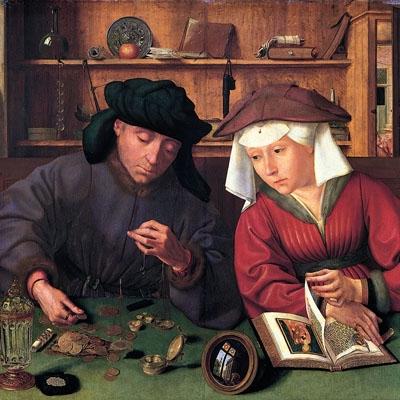 Le Prêteur et sa femme